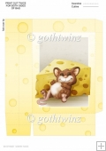 Too Much Cheese Mouse Mini Gift Bag