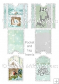 Christmas Joy Pocket and Tag Inserts