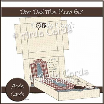 Dear Dad Mini Pizza Mini Pizza Box