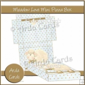 Meadow Love Mini Pizza Box