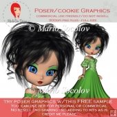 Vera Sample Poser Graphic :: Freebie