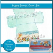 Happy Bunnies Favour Box