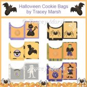 Halloween Cookie Pouches