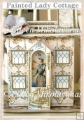 Painted Lady Victorian Home Decor Display for Hand Cutting