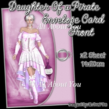 Daughter Of a Pirate Card Front