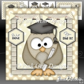 Graduation Owl Mini Kit