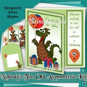 Nobody Is Too Old Asymmetric Card Kit