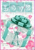 Gift of Love Valentine Backing Background Paper