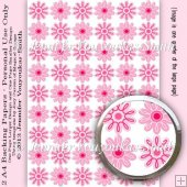 2 A4 Papers-2 Coloured Flowers Set 01-10