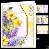 Spring Flowers Daffodils and Lilac Mini Kit