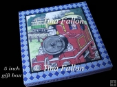 Tobias The Tank Engine 5 inch gift / card box handcut jpeg