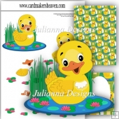 Little Yellow Duck Decoupage Set