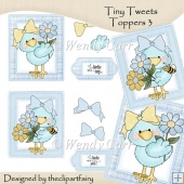 Tiny Tweets Toppers 3(Retiring in July)
