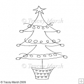 Christmas Tree 2 - Digital Stamp