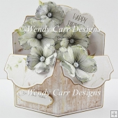 POP UP FLORAL CARD