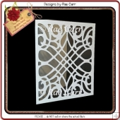 280 Fancy Cut Design Card & Topper *Multiple MACHINE Formats*