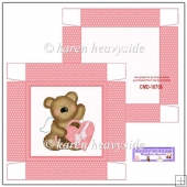 Valentine Bear 5x5 Box (Retiring in October)