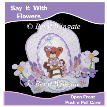 Say It With Flowers - Little Bear