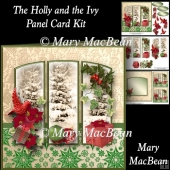 The Holly and the Ivy Panel Card Kit