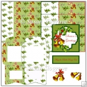 Christmas Bells Easel Card