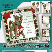 Reindeer With Bells Mini Kit