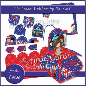 The London Look Pop Up Box Card