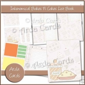 Inkenomical - Bakes N Cakes List Book