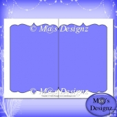 Shaped Card Template 2