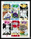 Adorable Westies Tag Set