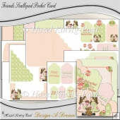 Friends Scalloped Pocket Card