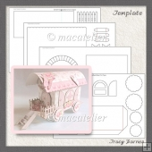 Romany Wagon Box Template