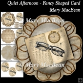 Quiet Afternoon - Fancy Shaped Card
