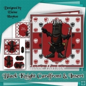 Black Knight Card Front and Insert