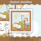 Shepherd Card Front & Decoupage