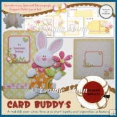 Somebunny Special Decoupage Shaped Fold Card Kit