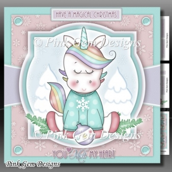 You Melt My Heart Unicorn Mini Kit