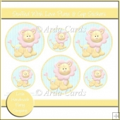 Stuffed With Love Plate & Cup Stickers