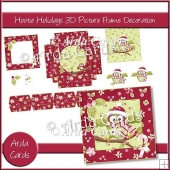 Hootie Holidays 3D Picture Frame Decoration