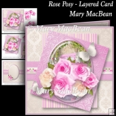Rose Posy - Layered Card