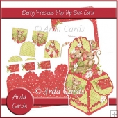 Berry Precious Pop Up Box Card