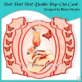 Hot Hot Hot Double Pop Out Card