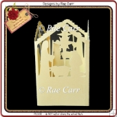 635 Nativity Tealight Lantern Multiple MACHINE Formats