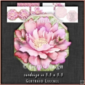 Flower Shaped Card Kit 1337