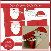 Father Christmas Candy Pouches