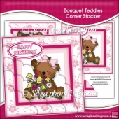 Bouquet Teddies Corner Stacker