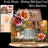 In the Woods - Wishing Well Easel Card