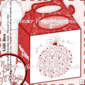 Gift Box-Merry Christmas Bauble