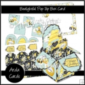 Beelightful Pop Up Box Card