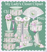 My lady's Closet COMMERCIAL USE PNG Clipart