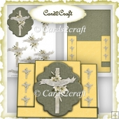 Easter cross pop out card